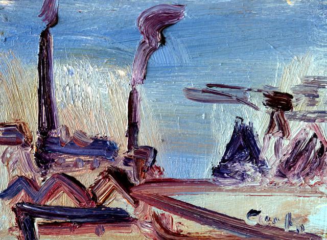 , 'Scrap Yard Study 2,' , The Scottish Gallery