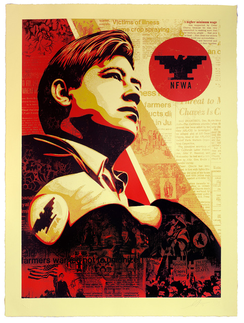 Shepard Fairey, 'Workers' Rights', 2016, Subliminal Projects