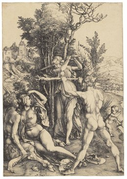 , 'Hercules at the Crossroads (B. 73; M., Holl. 63; S.M.S. 22),' ca. 1498, Christie's Old Masters
