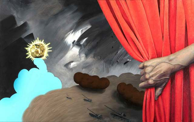 , 'Ob_Scenery 1,' 2018, Galerie Crone