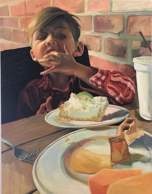 , 'Boy Eating Pie,' 2018, Hexton Gallery