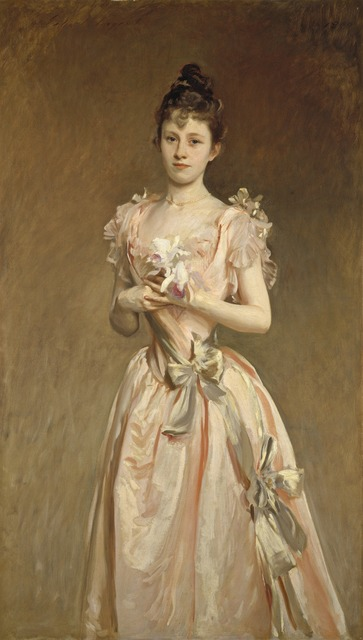 John Singer Sargent, 'Miss Grace Woodhouse', 1890, Painting, Oil on canvas, National Gallery of Art, Washington, D.C.