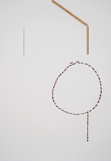 , 'Untitled (Four Starts),' 2009, Museum Dhondt-Dhaenens