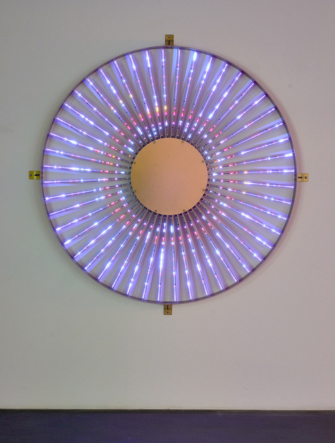 Leo Villareal, 'Radiant Wheel', 2015, Pace Gallery