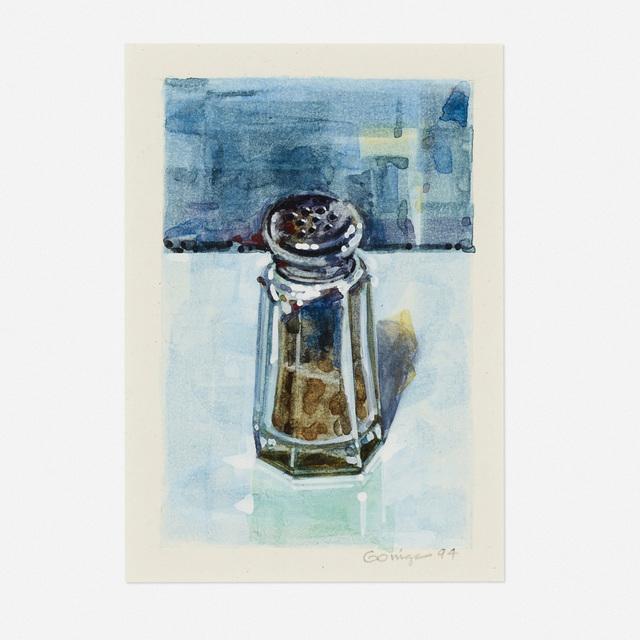 Ralph Goings, 'Pepper Shaker-Blue', 1994, Wright