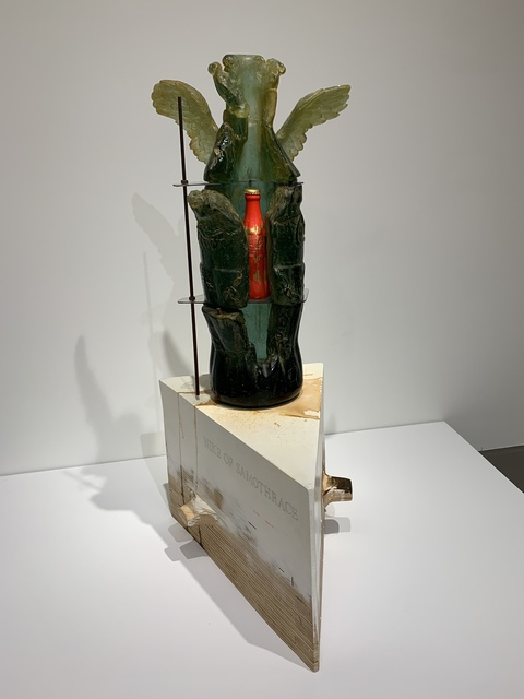 , 'Nike of Samothrace,' 2008, Montague Gallery