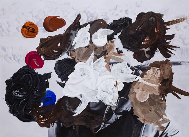 Eduardo Sarabia, 'Gold Tooth', 2019, Javier Lopez & Fer Frances