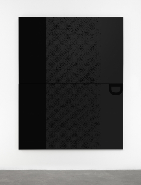 , 'Black Dada/Column (D),' 2015, Pace Gallery