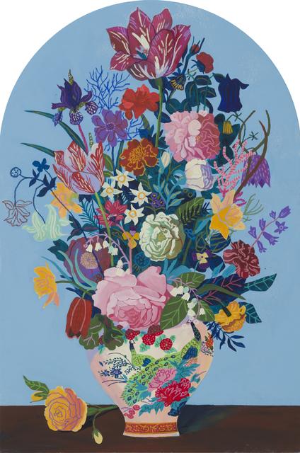, 'Blue Bouquet (Gravestone) ,' 2018, Wilding Cran Gallery