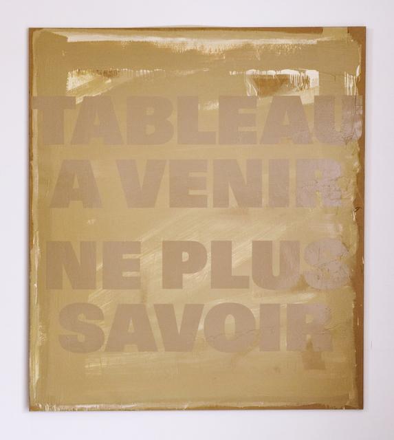 , 'Ein Blatt Papier III (SOP 370),' 1973-1990, Mai 36 Galerie