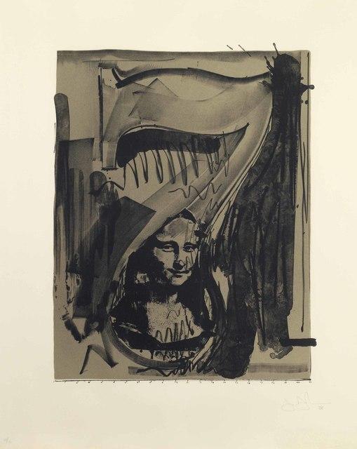 Jasper Johns, 'Figure 7, from Black Numeral Series', 1968, Christie's