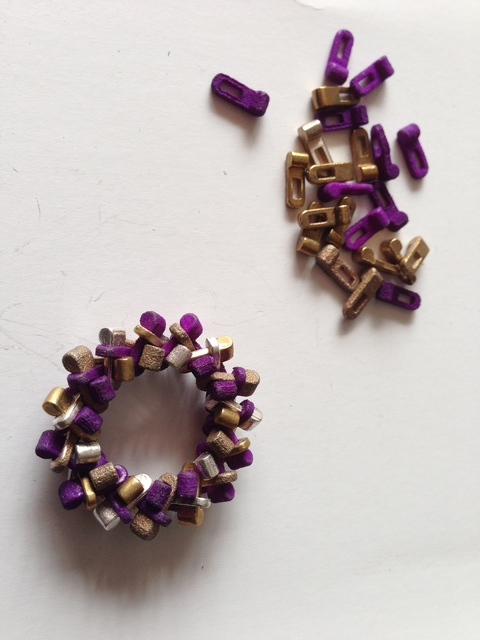, 'Puzzle Ring,' 2012, Bellevue Arts Museum