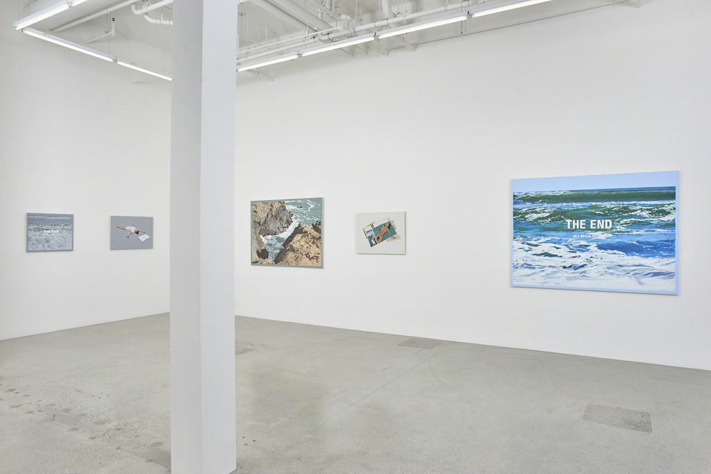 "Installation view of Luke Butler's ""Afterimage"""