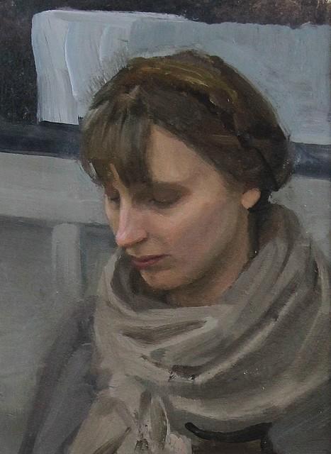 , 'Overcast,' 2018, Castlegate House Gallery