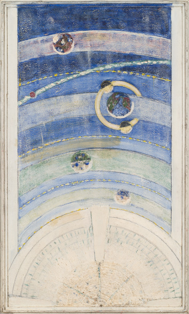 , 'Untitled (Solar System - Blur),' ca. 1950, Adams and Ollman