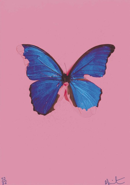 Damien Hirst, 'Blue Butterfly from: In the darkest hour there may be light', 2006, Christie's