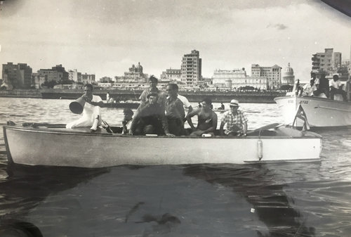 , 'Fidel Castro and Men in Boat,' ca. 1960, Rebekah Jacob Gallery