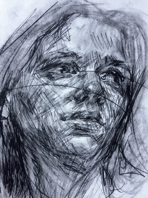 , 'Self Portrait,' 2016, GALERIE BENJAMIN ECK