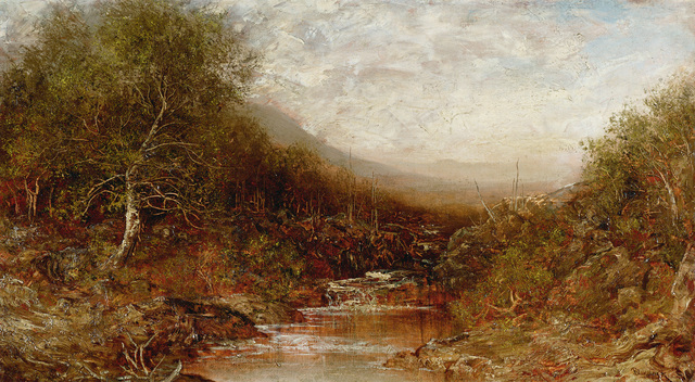 , 'Autumn Landscape with Stream,' , Questroyal Fine Art