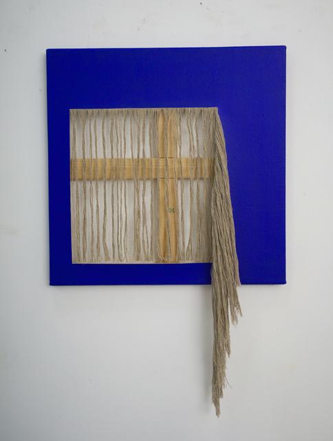 , 'Cutting Blue,' 2018, Sebastian Fath Contemporary