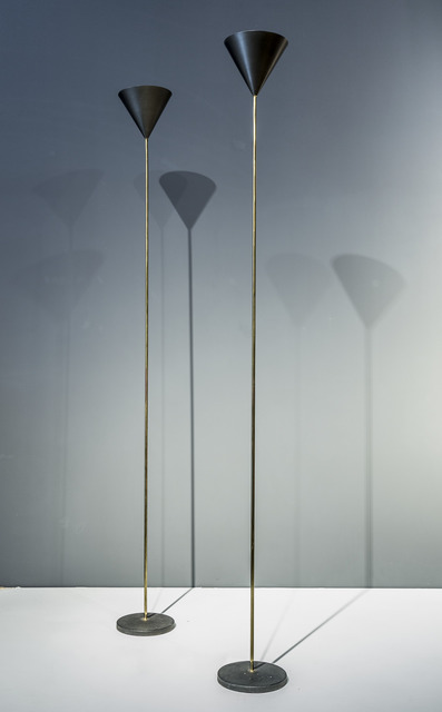 """, 'floor lamps - model """"LTE5 imbuto"""",' Designed in 1953-executed end of 1960's, Galleria Rossella Colombari"""