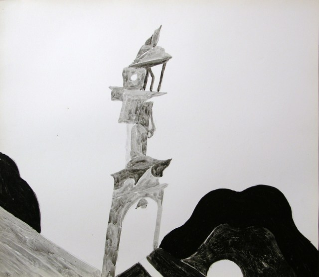 , 'A tower,' 1983, Zdes Gallery