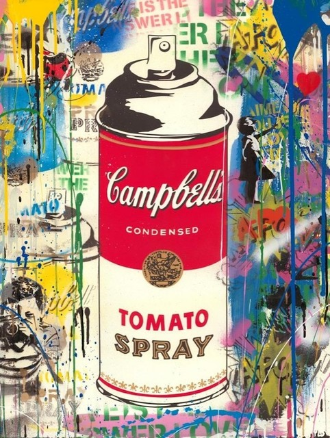 Mr. Brainwash, 'Tomato Spray', 2019, Aurifer AG