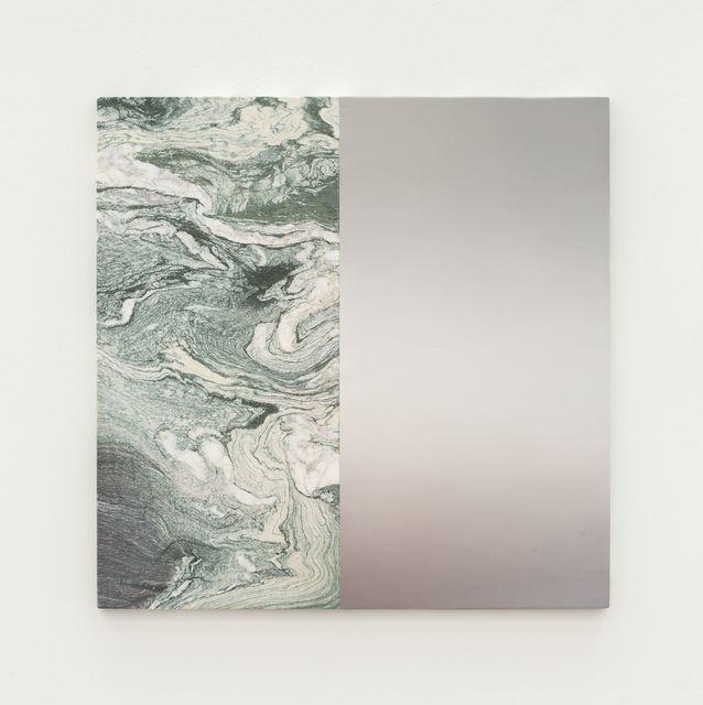 Pieter Vermeersch, 'Untitled', 2018, Painting, Oil on marble, Perrotin