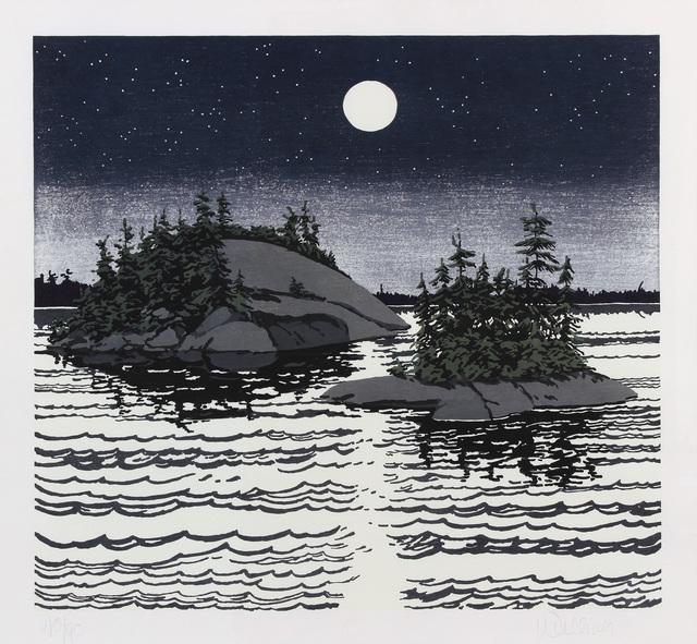 , 'Islands - Allagash,' 1990, Alexandre Gallery