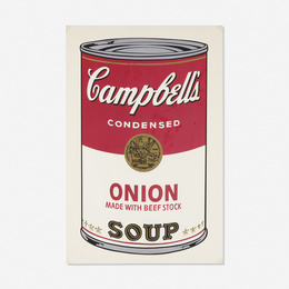 Onion Soup Can from Campbell's Soup I