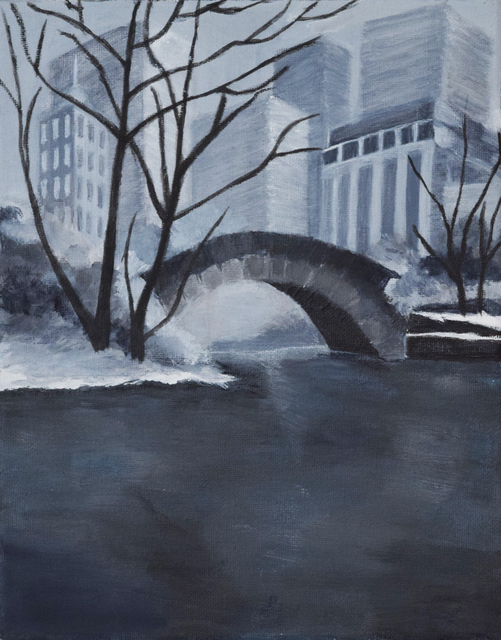 , 'Central Park Monochrome,' 2018, Fountain House Gallery