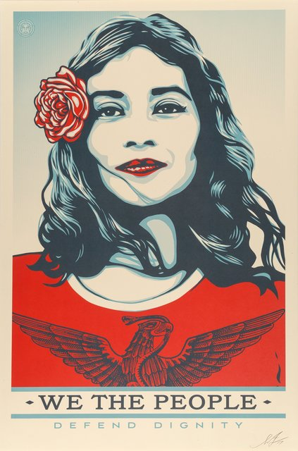 Shepard Fairey, 'We the People, (three works)', 2017, Print, Heritage Auctions
