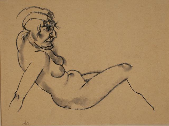 George Grosz, 'Reclining Nude', 1916, ACA Galleries