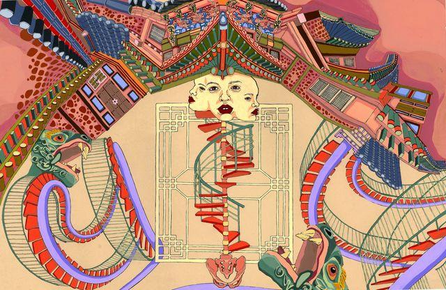 Hyun Jung Ji, 'Cultural Barrier', 2018, MvVO ART