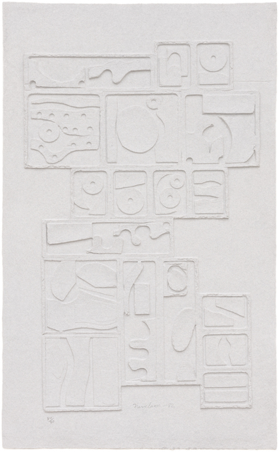 Louise Nevelson, 'Sky Gate I', 1982, International Print Center New York (IPCNY) Benefit Auction