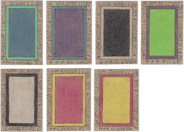 , 'Les sept couleurs de la terre,' 2000, Magnin-A