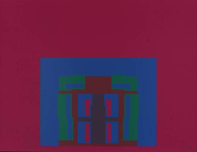 , 'The Paramount Suite (burgundy),' 1969, Bernard Jacobson Gallery