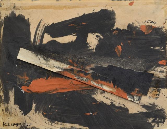 , 'Sans titre,' 1957, Galerie Zlotowski