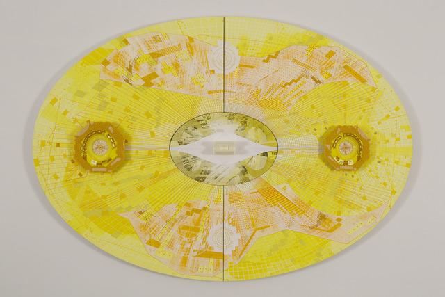 , 'LHC Yellow,' 2013, 101/EXHIBIT