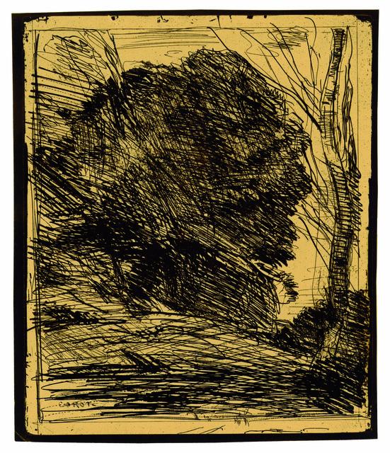 , 'Les Arbres dans la montagne,' 1856, Peter Freeman, Inc.
