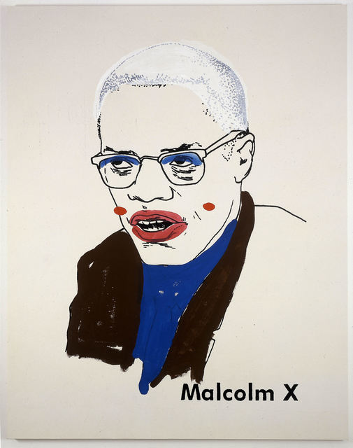 , 'Malcolm X #1 (small version #2) ,' 2003, Tate Liverpool