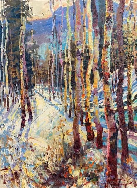 , 'Winter Shadows,' 2018, Greg Thompson Fine Art