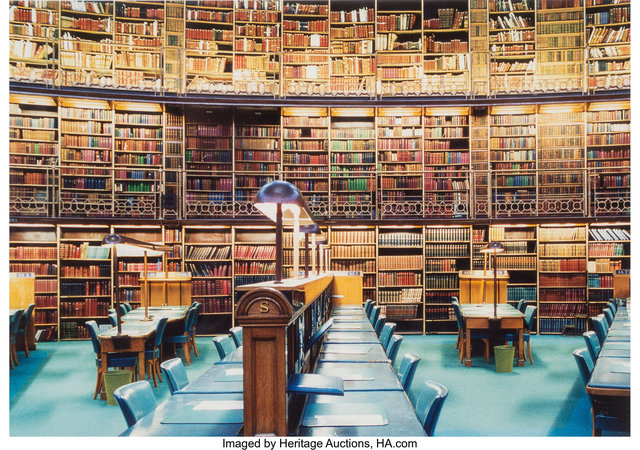Candida Höfer, 'British Library, London IX', 1994, Photography, Dye coupler, Heritage Auctions