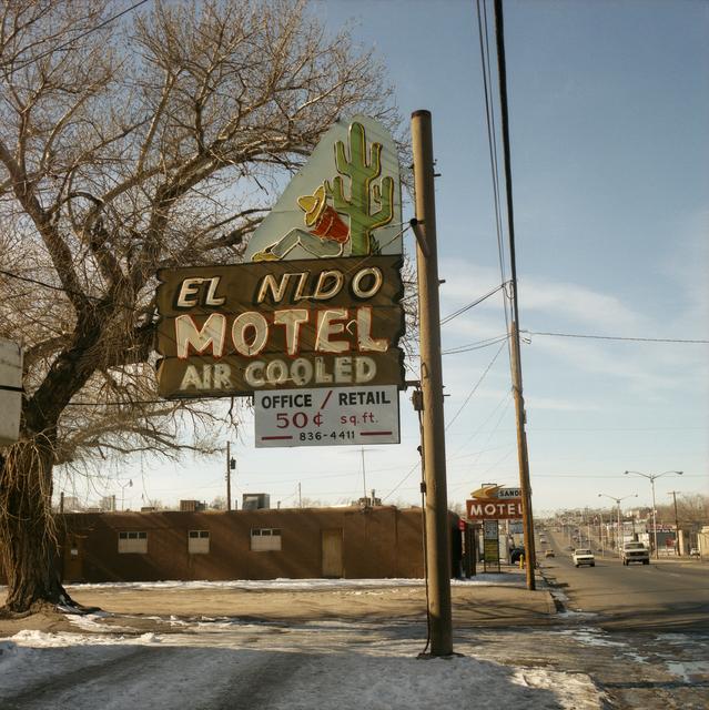 , 'Albuquerque, New Mexico; January,' 1987, photo-eye Gallery