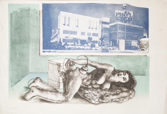 """, ' Untitled (No. 12). De la serie """"La Obsesión de la Belleza"""" ,' ca. 1976, Cosmocosa"""