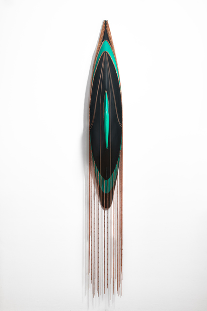 , 'Black, Green and Copper,' 2019, October Gallery
