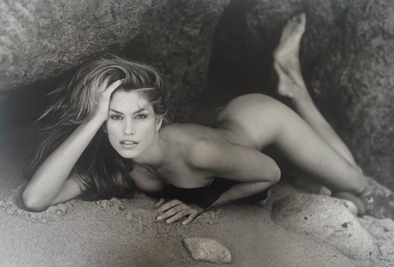 , 'Cindy Crawford, Malibu, CA,' 1995, Friedman Benda