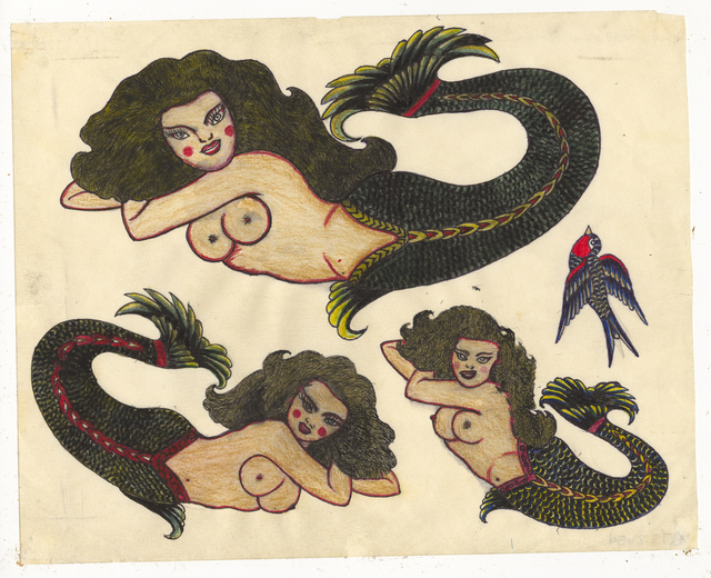 , 'Untitled (Mermaids),' ca. 1950, Ricco/Maresca Gallery
