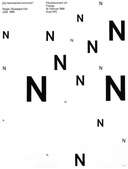 , 'Die Normannen Kommen,' 1968, AIGA
