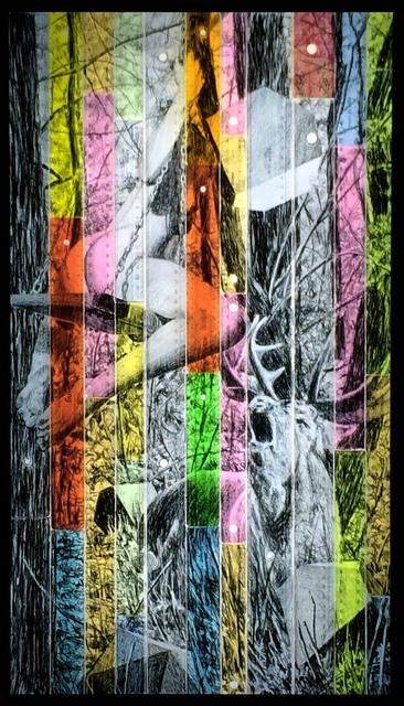 , 'Dialogue avec la femme, p.II,' 2017, Art Bärtschi & Cie | Geneva, Switzerland